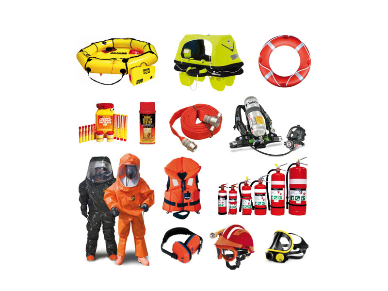 Safety Gear (Life Saving Equipmwnts)